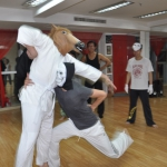 Capoeira Halloween party